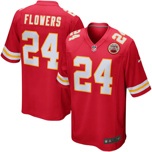 Brandon Flowers Kansas City Chiefs Nike Youth Team Color Game Jersey Cheap - Red